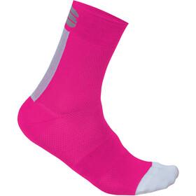 Sportful Bodyfit Pro 12 Socks Women Bubble Gum/White